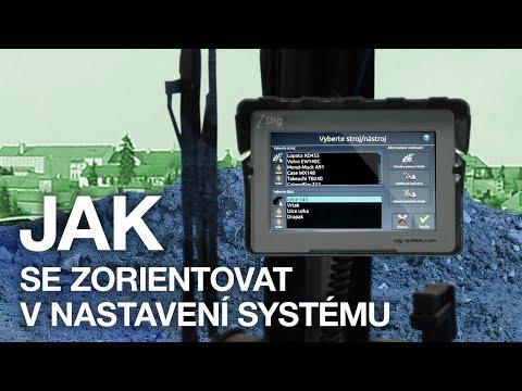 IDig 2D Touch - Nastavení Systému