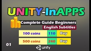 Unity In-App purchases IAP integration [COMPLETE GUIDE] 01