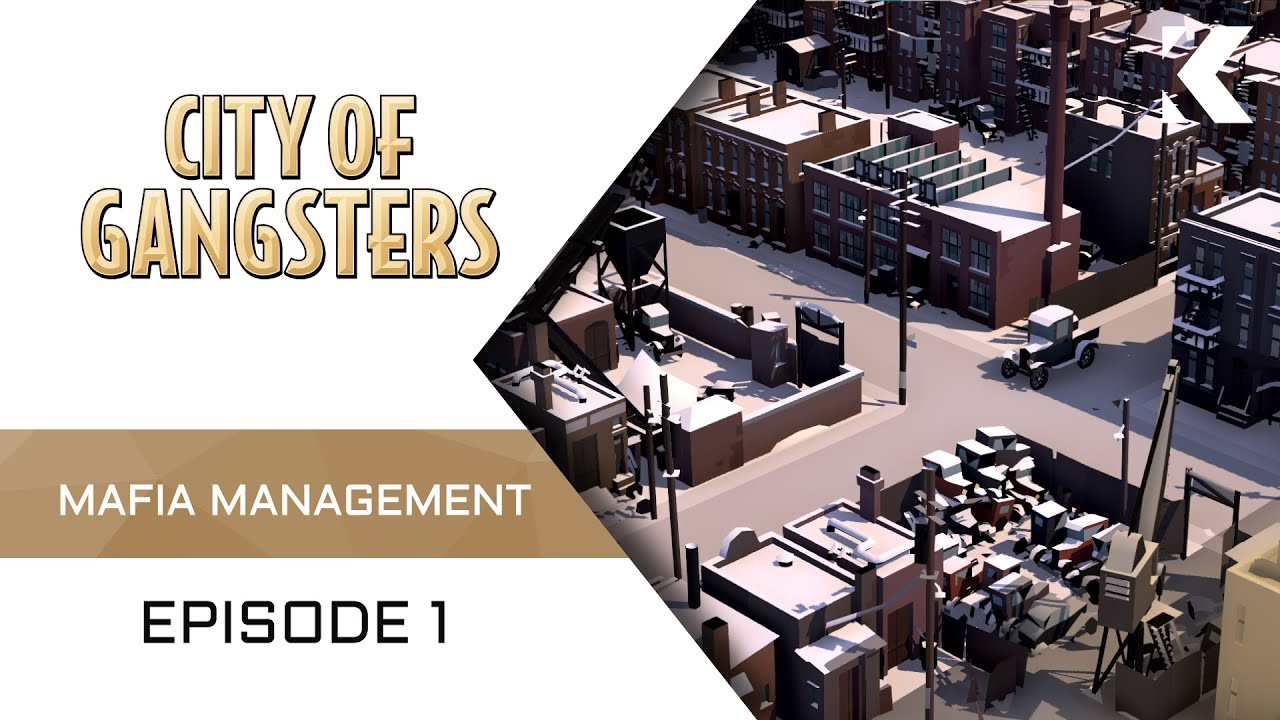 Upcoming mafia management sim is all about supply and demand (and a little bit of bribery and a touch of strong-arming).
