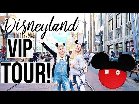 Celebrity VIP Disneyland Tour   Experience Disneyland!