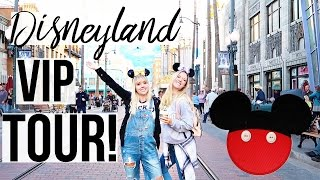 celebrity vip disneyland tour experience disneyland