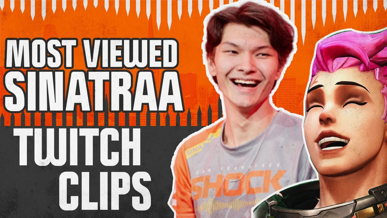 Download 20 MOST VIEWED SINATRAA TWITCH CLIPS | Overwatch League