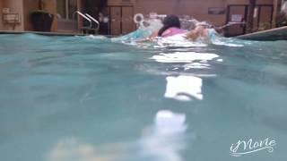 Note 8 camara test underwater