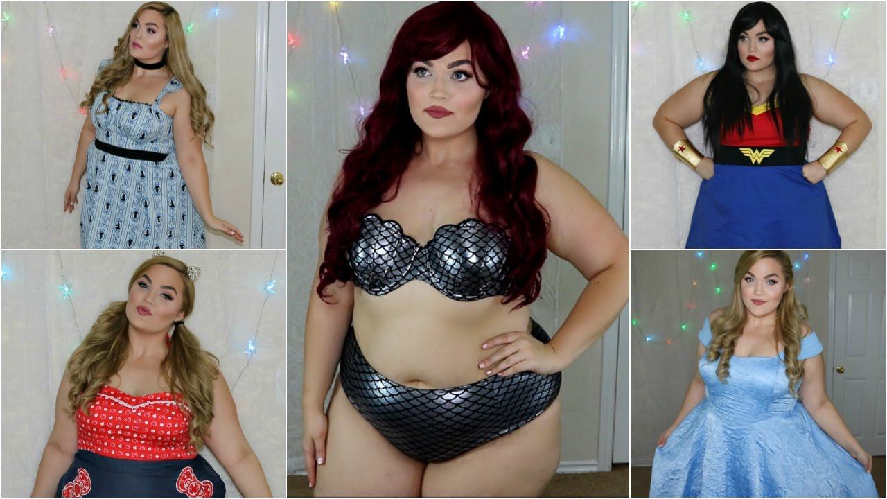 halloween costume ideas | plus size ♡ 2016 - youtube