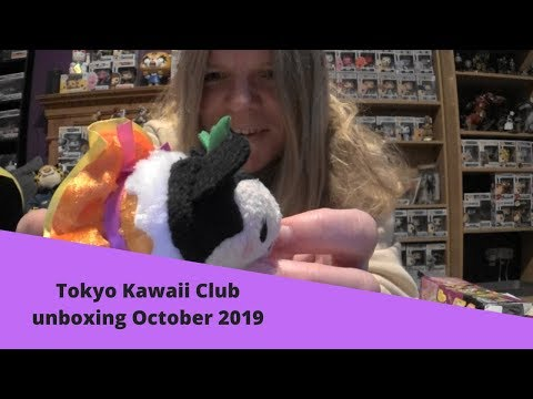 Tokyo kawaii club unboxing October 2019