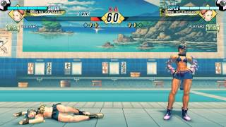 Repeat youtube video Super/Ultra Street Fighter IV [Steam]: Mirror Match Double K.O. set, #29-30 [Cammy/Chun-Li]