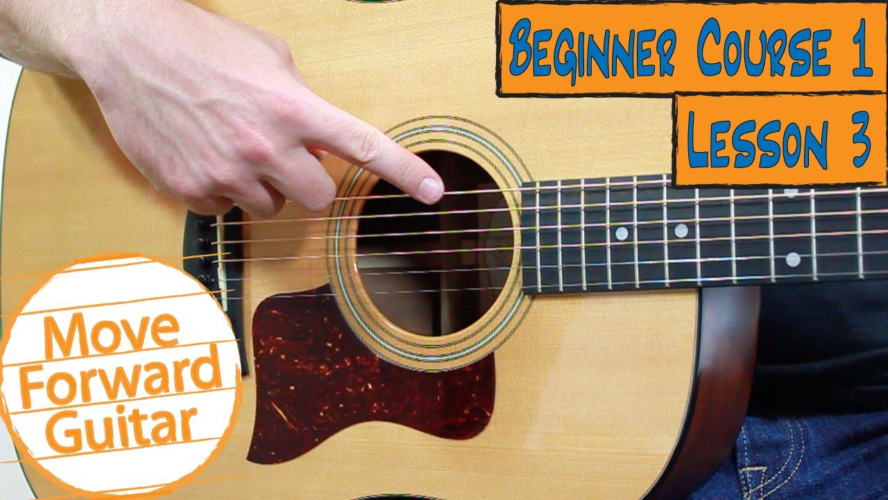 Beginner Guitar Course 1 String Names Youtube