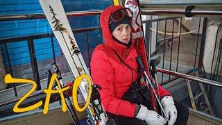 ВЛОГ Япония Ямагата Лыжный курорт ЗАО 1 часть