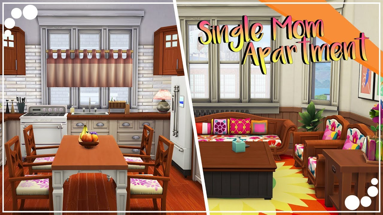 Single Mom Apartment The Sims 4 Sd Build