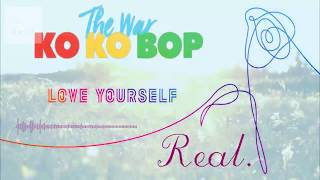 Gambar cover BANGTAN/EXO - REAL (IDOL x KOKOBOP x SERENDIPITY x DIMPLE Mix)
