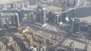 Burj Khalifa,Dubai  Level 148 View