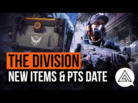 The Division | PTS 1.7 Date Announced, New Items & Re-Customize Your Charcater