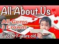 """Dancing Line """"All About Us""""(All Gems&Crowns) 7 years old ダンシングライン"""