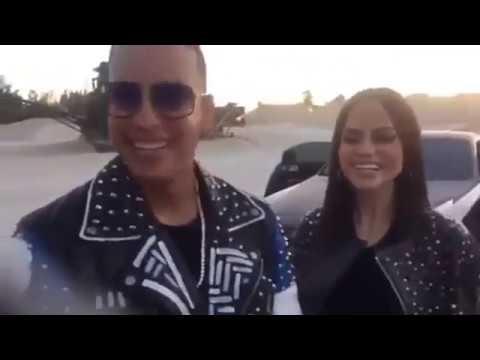 Daddy Yankee en la grabación del video Otra Cosa junto a Natti Natasha(Behind the Scenes)