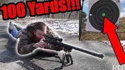 LONG RANGE SHOOTING with 22. LR (Range Test)