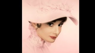 Audrey Hepburn - Speed Drawing Technique: Airbrush and Colored Pencil