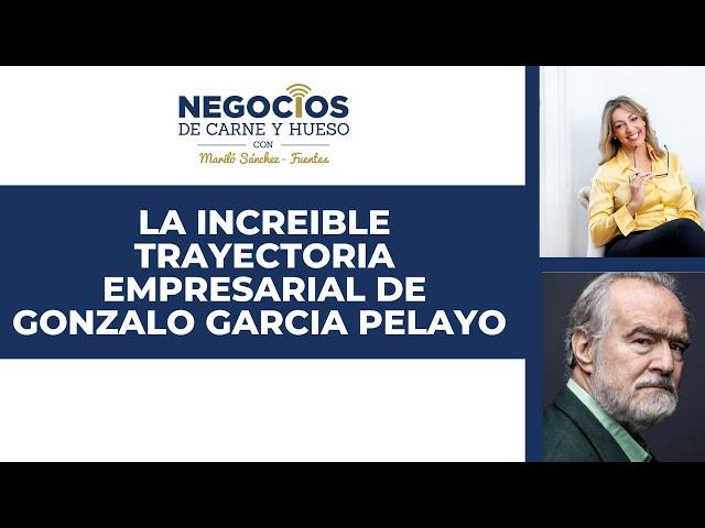 La increíble trayectoria empresarial de Gonzalo García Pelayo | ENTREVISTA