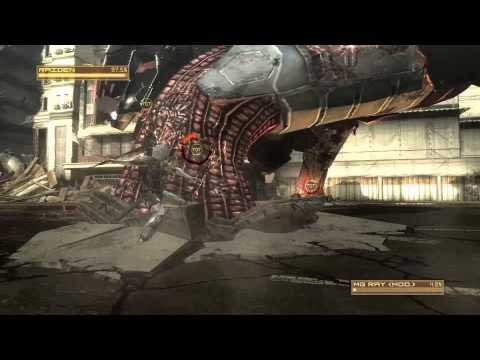 MGRR - Metal Gear Rising Revengeance - Playthrough Part 1 - Guard Duty