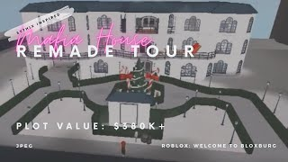 SYTHIX Mafia House Remade Tour: The Red Mist Estate (380k+) || ROBLOX: Welcome to Bloxburg