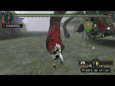 PSP Monster Hunter 2g Shen Gaoren Gameplay 1 2