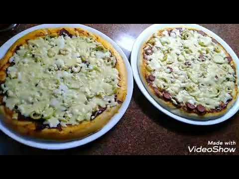 صورة  طريقة عمل البيتزا طريقة عمل البيتزا 😋😋😋😋 طريقة عمل البيتزا من يوتيوب