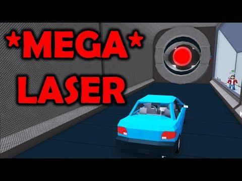 TEST MEGA LASERA! CZY AUTO TO WYTRZYMA? | ROBLOX #admiros