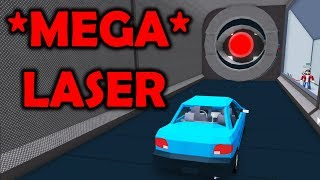 TEST MEGA laser! IF AUTO IS A STAND? | ROBLOX #admiros