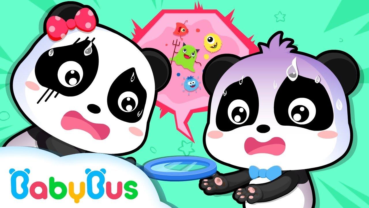 Límpiate las manos antes de que comas | Canciones Infantiles | BabyBus Español