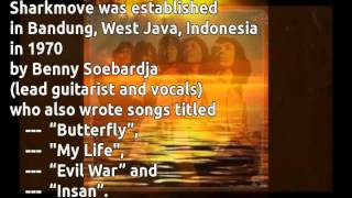 Shark Move - Butterfly (with lyrics on screen) 1970, Indonesia