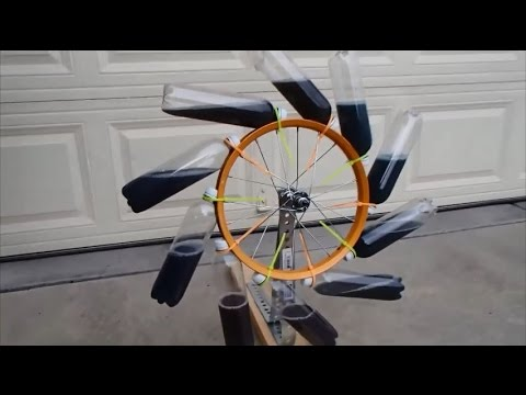 Perpetual Motion - Bhaskara's Wheel - Free Energy
