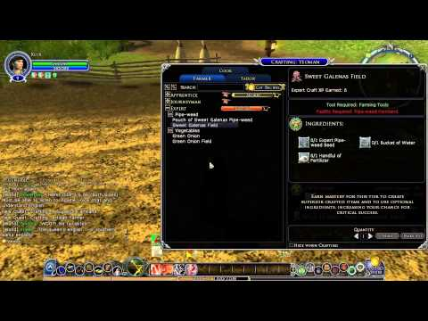 Lord Of The Rings Online Leveling 5-20 With Crafting (Farming)
