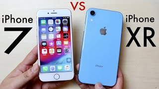 iPHONE XR Vs iPHONE 7! (Should You Upgrade?) (Speed Comparison) (Review)
