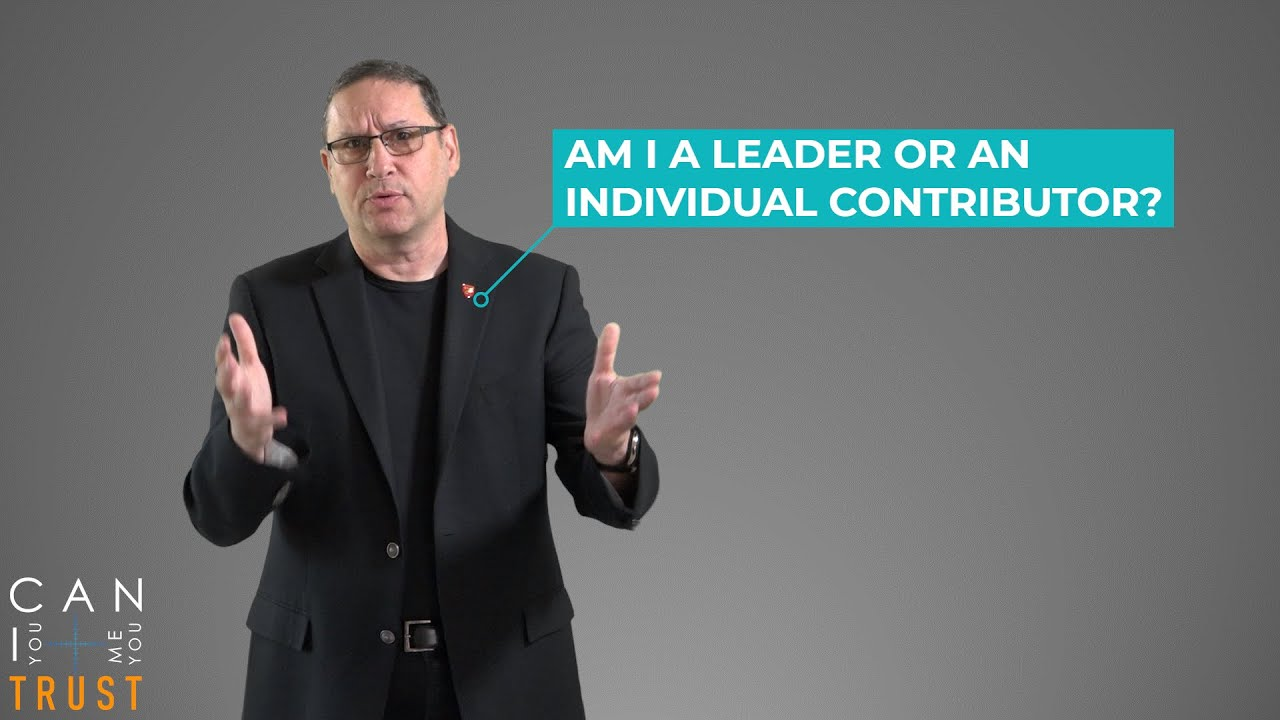 Are you a leader, or individual contributor?
