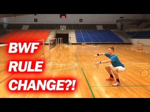 Axelsen & Kolding PRACTICING SERVES For BWF Rule Change?!