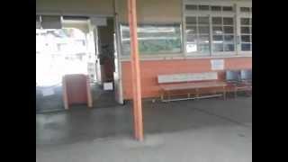 富士急行線車内放送 谷村町駅