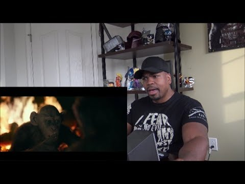 War for the Planet of the Apes Trailer (2017) 'Meeting Bad Ape' REACTION!!!