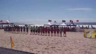Thailand Team, Aust Beach Soccer Cup, North Wollongong Beach, N.S.W., Australia.