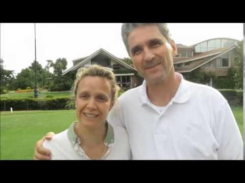 JTOG097 Carla & Gregor Schmid, Golfing Family in Uruguay