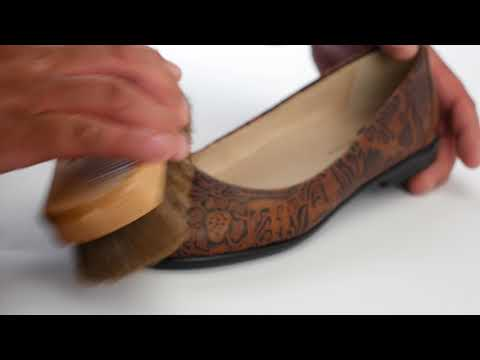 Video for SAS Shoe Brush this will open in a new window