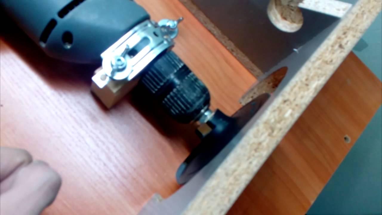 Шлифовальный станок из дрели своими руками: чертежи, фото и видео