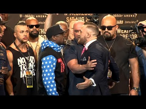 Thumbnail: Floyd Mayweather, Conor McGregor in verbal duel
