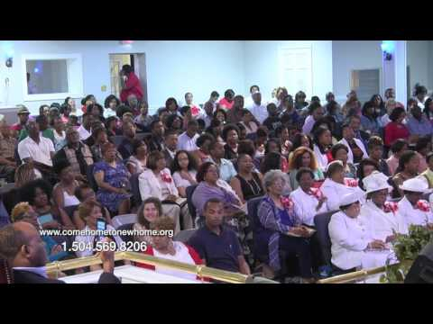 PASTOR SAMUEL R. BLAKES - TURN YOUR WORRIES OVER TO GOD PT-1
