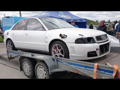 850+hp Audi A4 B5 Quattro with 2.2t AAN engine