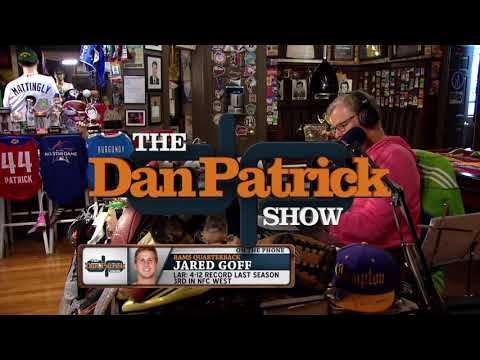 L.A. Rams QB Jared Goff on The Dan Patrick Show | Full Interview | 8/14/17