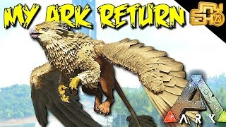 MY RETURN TO ARK SMALL TRIBES - ARK OFFICIAL PVP GRIEFING