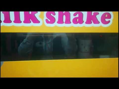 HM160A automatic milkshake machine, robort milkshake vending machine