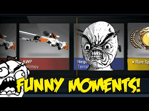 I HATE CASES!!!!!!!!!!!!!!! - CS GO CASE UNBOXING FUNNY MOMENTS