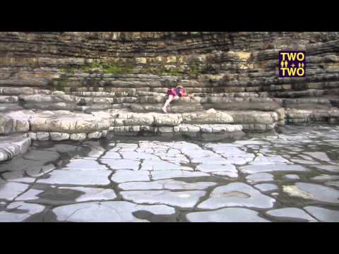 THE BEST FOSSIL HUNTING IN WALES  |  twoplustwocrew - family travel