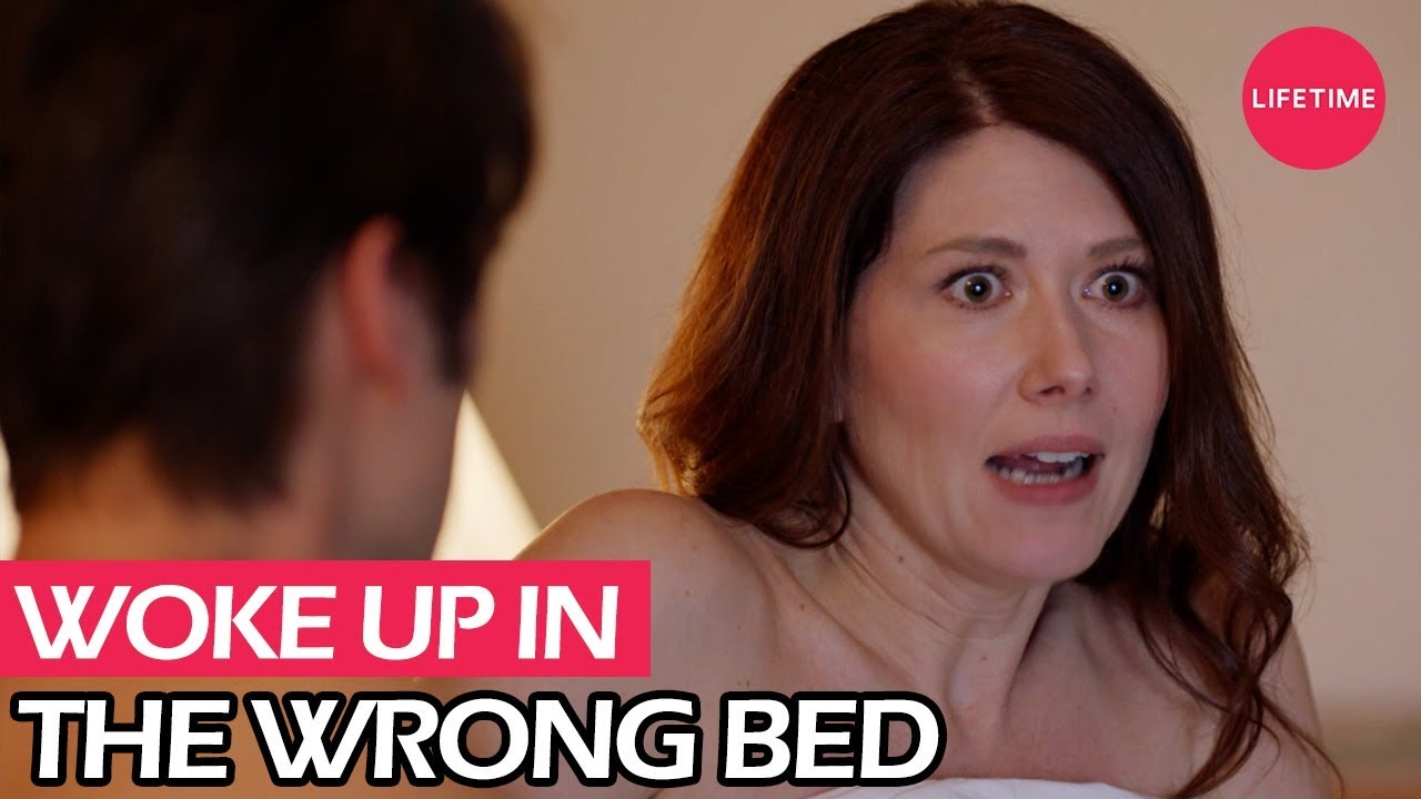 Jewel Staite Sexy Pics the wrong bed: naked pursuit trailer | lifetime