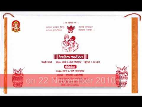 Suman wedding invitation youtube suman wedding invitation stopboris Gallery
